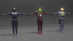 Icarian armors